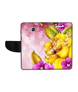 KolorEdge Printed Flip Cover For Samsung Galaxy J2 Multicolor - (1477-47KeMLogo10437SamJ2)