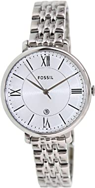 Fossil Women's ES3433 Jacqueline Analog Display Analog Quartz Silver Watch