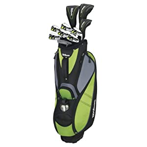 WILSON Damen Golfset Profile VF, Graphit, RH (Rechte Hand), Ladies (L), 1, WGG157242