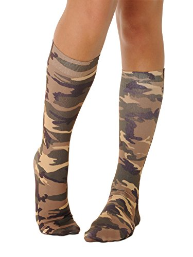 Camo Socks Knee High Womens