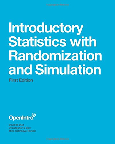 Introductory Statistics With Randomization And Simulation