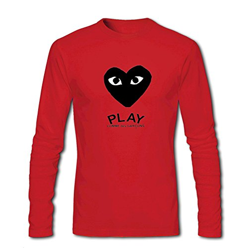 CDG PLAY COMME des GARCONS For Mens Long Sleeves Outlet