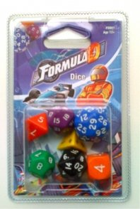 Formula D Dice Board Game