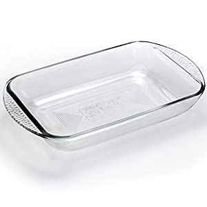 Borolux Baking Dish - 9x13 Inch - The Only Shatter-Proof Borosilicate Baking Pan With Our Original & Patented Glass Formula - Made In USA