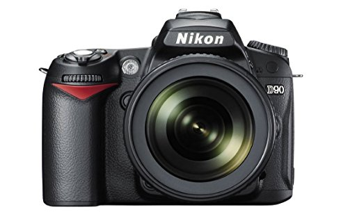 Nikon-D90-123MP-Digital-SLR-Camera-Black-with-AF-S-18-105mm-VR-II-Kit-Lens-8GB-Card-and-Camera-Bag