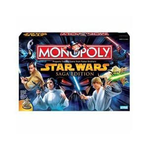 Star Wars Monopoly Saga Edition!