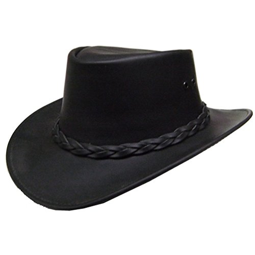 modestone-mens-oiled-leather-casual-hat-xl-black