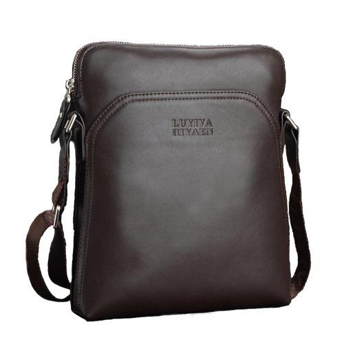Men's Stylish Casual Business Messenger Shoulder Bag Handbag With Vintage Selected Zip
