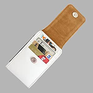 DooDa PU Leather Pouch Case Cover With Magnetic Closure For Intex Aqua Q4