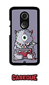 Caseque Lucky Cyclop Back Shell Case Cover For Moto X (2nd Gen.)