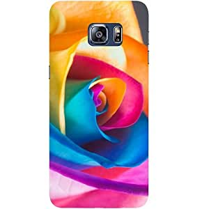 Casotec Close Up Pattern Design Hard Back Case Cover for Samsung Galaxy S6 edge Plus