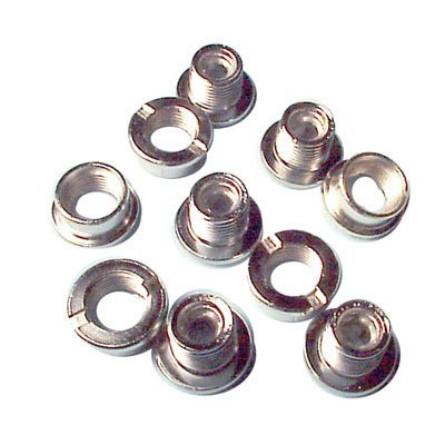 BMX Chainring Bolt Set BMX 5/Pkg Chrome