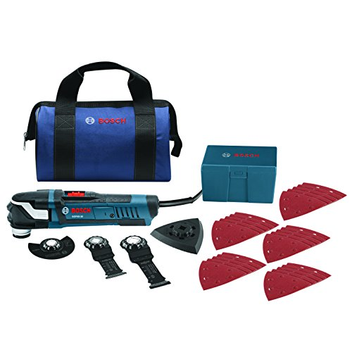 Bosch GOP40-30B StarlockPlus Oscillating Multi-Tool Kit with Snap-In Blade Attachment (Bosch Oscillating Saw compare prices)