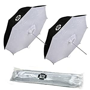PBL Photo Studio 40in Reflective Umbrella Softboxes Set of Two Steve Kaeser Photographic Lighting