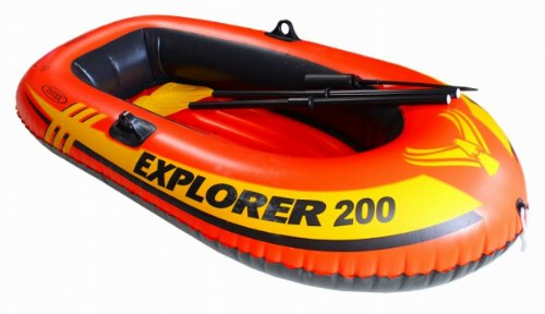 Intex Explorer 200 Boat Set