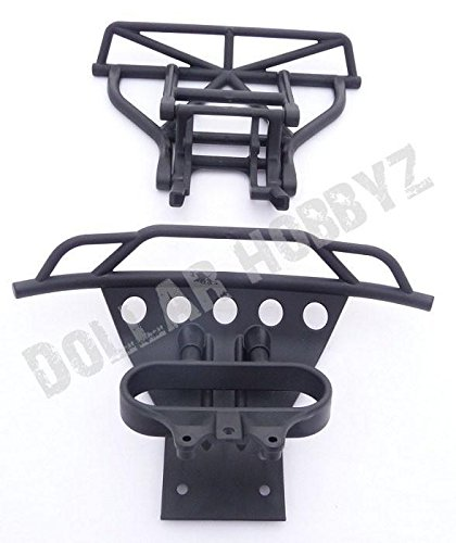 Traxxas 1/10 Ford Raptor/Slash 2WD * FRONT & REAR BUMPERS, SKID PLATE & MOUNT * (Rear Bumper For Ford F150 compare prices)