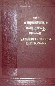 Sanskrit Telugu Dictionary: Anon: 9788120608788: Amazon