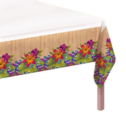 Jungle Paradise 54in x 102in Paper Tablecover - 1
