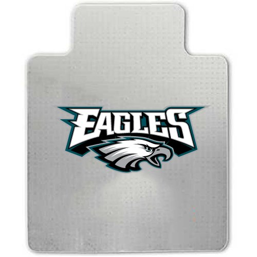NFL Philadelphia Eagles Chair Pad, Clear at Amazon.com