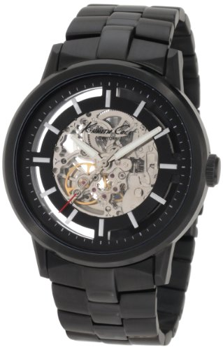 Kenneth Cole New York Men's KC3981 Black-Link Translucent Watch