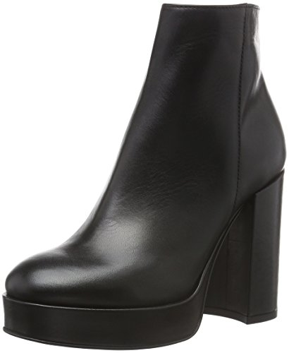 LEA FOSCATIWENGEN - Stivali bassi con imbottitura leggera Donna , Nero (Nero (Nero)), 40 EU