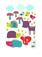Baleno Vinilo Decorativo Forestfriends (Multicolor)