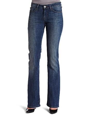 Levi's Women's 545 Lowrise Bootcut Jean, Reflection, 4 Short