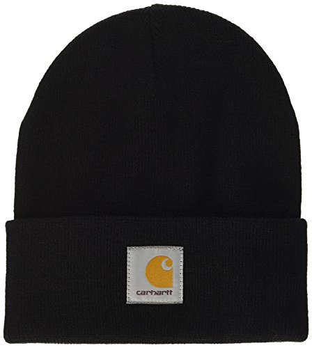 Carhartt, Short Watch Hat - Cappello, unisex, colore black, taglia Taglia unica