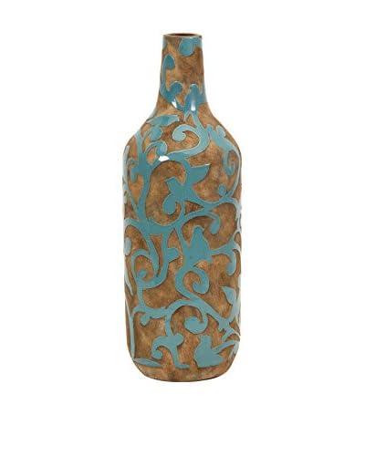 Crestly Large Vase, Turquoise