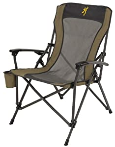 Buy Browning Camping 8517114 Fireside Chair with Pro-Tec Powder Coating Finish by Browning