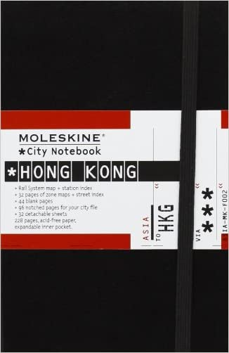 Moleskine City Notebook Hong Kong