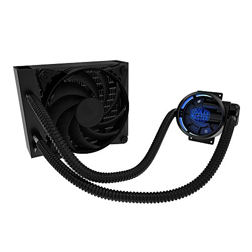 MasterLiquid Pro 120 All-In-One (AIO) Liquid Cooler with FlowOp Technology, Dual Chamber Design and MasterFan Pro Radiator Fan (Desktop Computer Water Cooler compare prices)