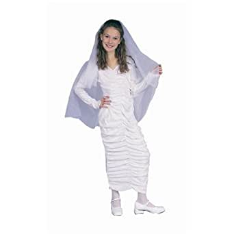RG_COSTUMES Boys White Dress W/cape-chd Small
