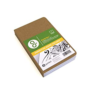 Guided Products ReWrite Memo Blank Recycled Pocket Notebook, 48 Pages, 4 Pack (GDP00125)