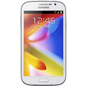 Samsung Galaxy Grand Duos I9082 Dual Sim Factory Unlocked Phone with Android 4.1.2, 8MP Camera, Wi-Fi and GPS - White
