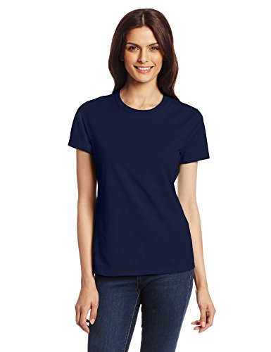 Hanes Women's Nano T-Shirt, X-Large, Navy