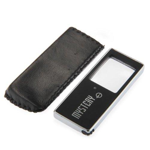 Led Light Lamp Magnifier Magnifying Glass Lens Loupe For Phone Black