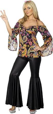 disco clothes smiffys retro flower power hippie disco 60s