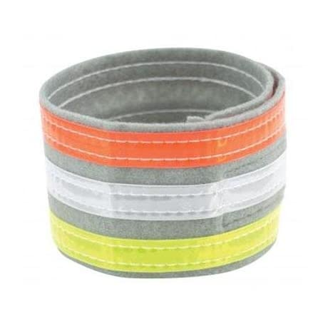 Nathan Hydration 2014/15 Tri-Color Ankle Band - Yellow/White/Orange - 2021NASST