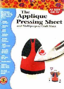 Applique Pressing Sheet 13x17 Inch Transparent Reusable Non-stick Craft Sheet-pressing (Wax Embossing Stamp compare prices)