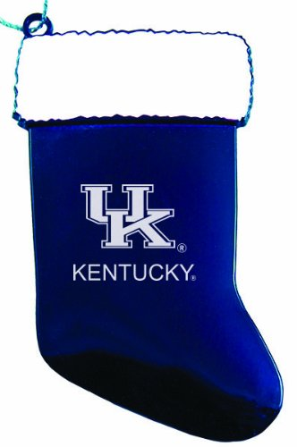 University of Kentucky - Chirstmas Holiday Stocking Ornament - Blue at Amazon.com