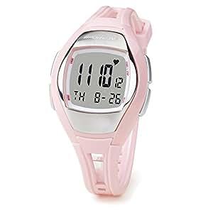 Sportline Solo 925W Women's Heart Rate Monitor + Pedometer Watch (Pink)