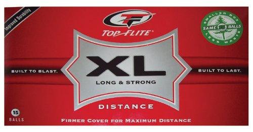 Bx/15 X 3: Top Flight Xl Golf Balls (610654615)
