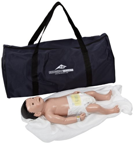 3B Scientific P41 Male Baby Care Model with Japanese Facial Features, 20.5
