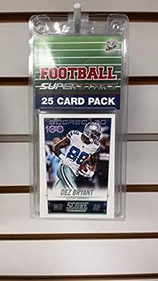 (25) Twenty Five Card Pack Football Dallas Cowboys Superstars Starter Kit