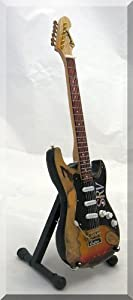 STEVIE RAY VAUGHAN Miniature Guitar SRV custom
