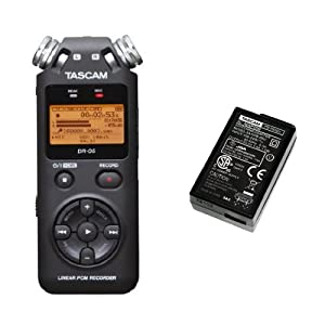 TASCAM DR-05 and Adapter Bundle