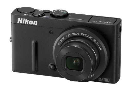 Nikon COOLPIX P310 Compact Digital Camera - Black (16.1MP, 4.2x Optical Zoom) 3 inch LCD
