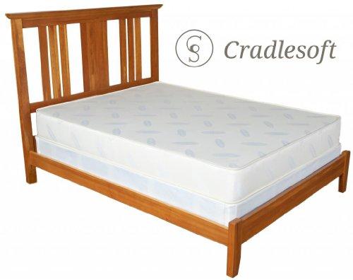 Cradlesoft¨, 8-Inch Natural Latex Plus Foam Mattress, Full