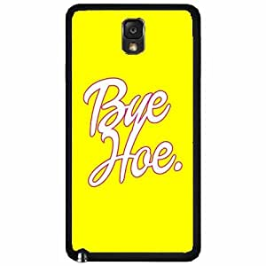 Amazon.com: Yellow Bye Hoe Plastic Phone Case Back Cover Samsung
